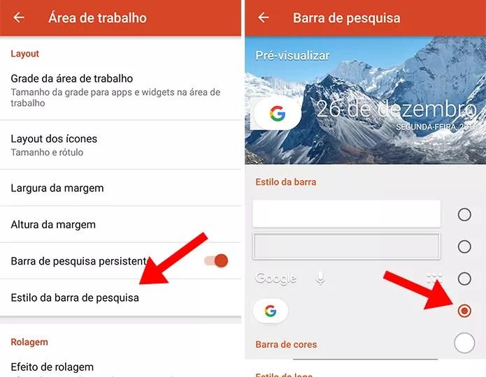Ative a nova barra de pesquisa do Google (Foto: Reprodução/Paulo Alves)