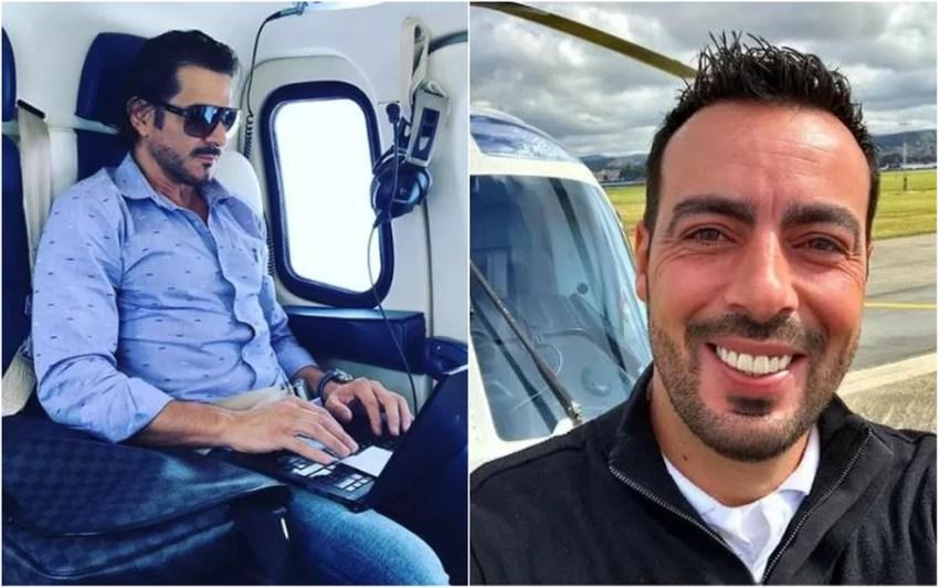 Equipe de resgate encontrou corpos de vítimas da queda do helicóptero (Foto: Reprodução / Redes Sociais)