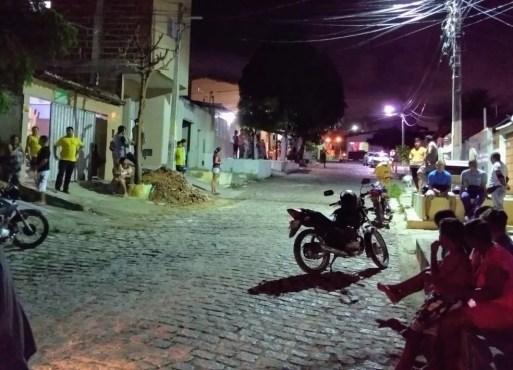 Homem morre em assalto na rua de casa na Zona Norte de Natal — Foto: Acson Freitas/Inter TV Cabugi