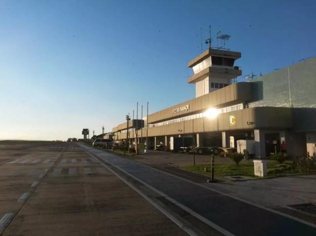 Aeroporto de Foz do Iguaçu é o que mais cresceu no país em número de passageiros (Foto: Infraero/Divulgação)