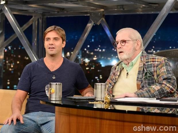 Fábio Rabin participa do Programa do Jô desta sexta-feira (Foto: TV Globo/Programa do Jô)