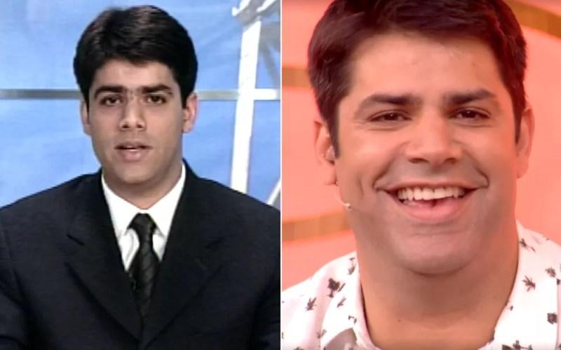 Lair Rennó já foi apresentador da EPTV Sul de Minas na década de 90. — Foto: Arte/G1