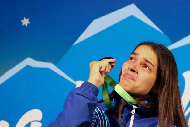 Resultado de imagem para Catia Oliveira ficou com a medalha de prata no Mundial Paralímpico de Tênis de Mesa — Foto: Roberto Castro / Ministério do