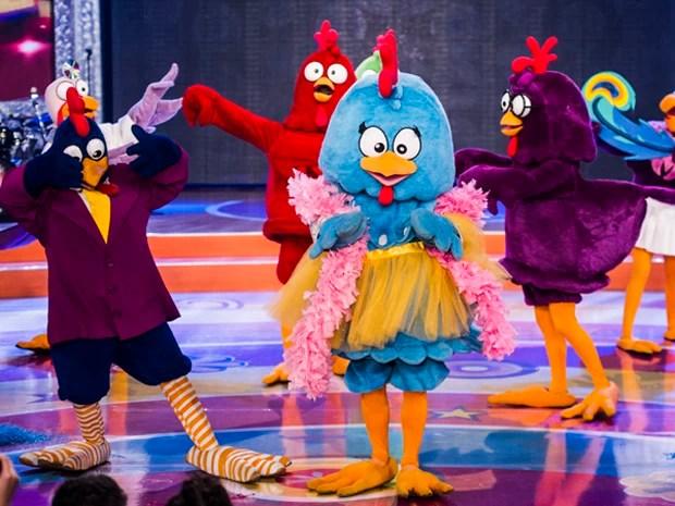 TV Xuxa comemora o Dia das Crianças com presença da Galinha Pintadinha