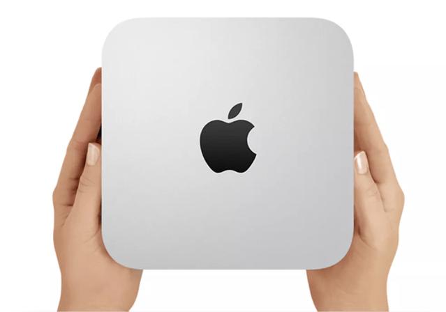 Mini PC da Apple não deve ter mudanças no visual, mas novas especificações são esperadas — Foto: Divulgação/Apple