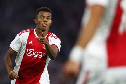David Neres, atacante do Ajax, é alvo do Guangzhou Evergrande, da China — Foto: Dean Mouhtaropoulos/Getty Images
