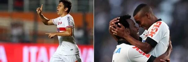 O São Paulo encara o Corinthians em Barueri, jogo válido pelo Campeonato Brasileiro (Foto: globoesporte.com)