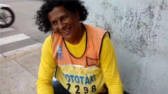 Mototaxista foi morto durante tentativa de assalto em Teresina — Foto: Reprodução/Facebook