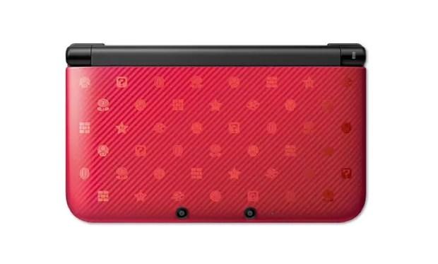 Novo modelo do 3DS XL inspirado nos jogos de Mario e companhia (Foto: Divulgação)