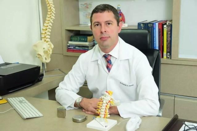 Charles Amaral de Oliveira, médico intervencionista de dor e ex-presidente da Sociedade Brasileira de Médicos Intervencionistas em Dor — Foto: Divulgação