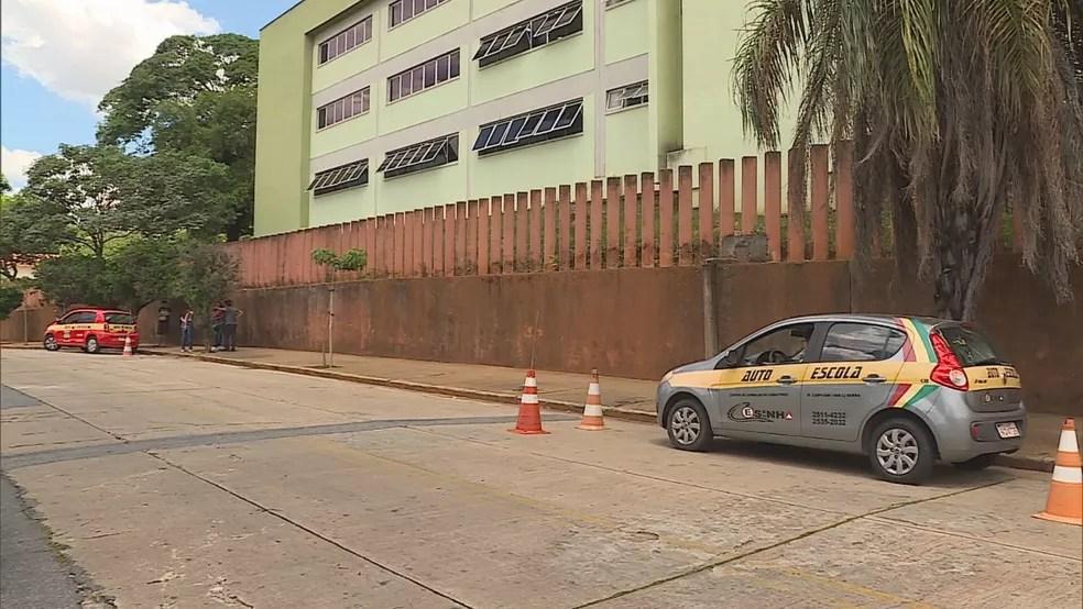 Candidatos a motoristas que já pagaram a taxa têm o exame garantido. — Foto: Reprodução / TV Globo