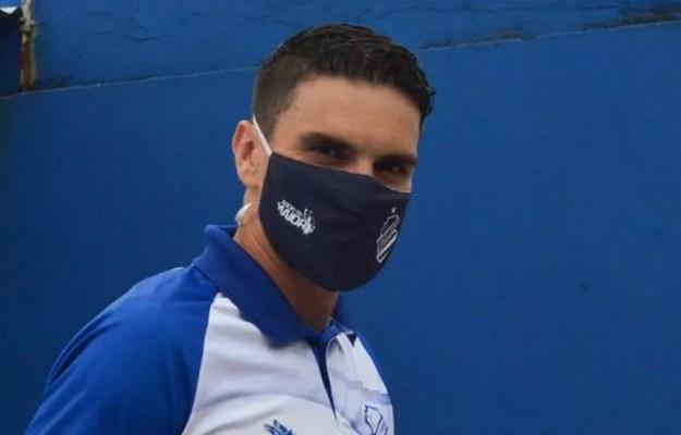 Rodrigo Pimpão tem 15 jogos pelo CSA na atual temporada — Foto: Augusto Oliveira/Ascom CSA