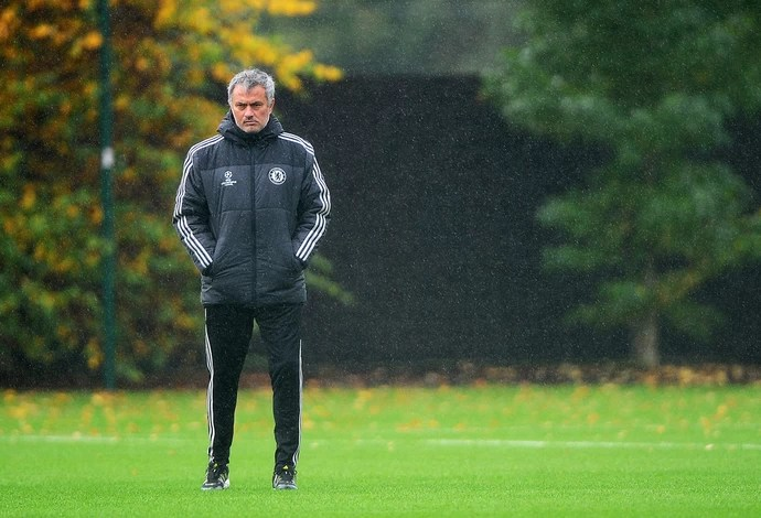 Chelsea  treino Jose Mourinho  (Foto: Gettyimages)