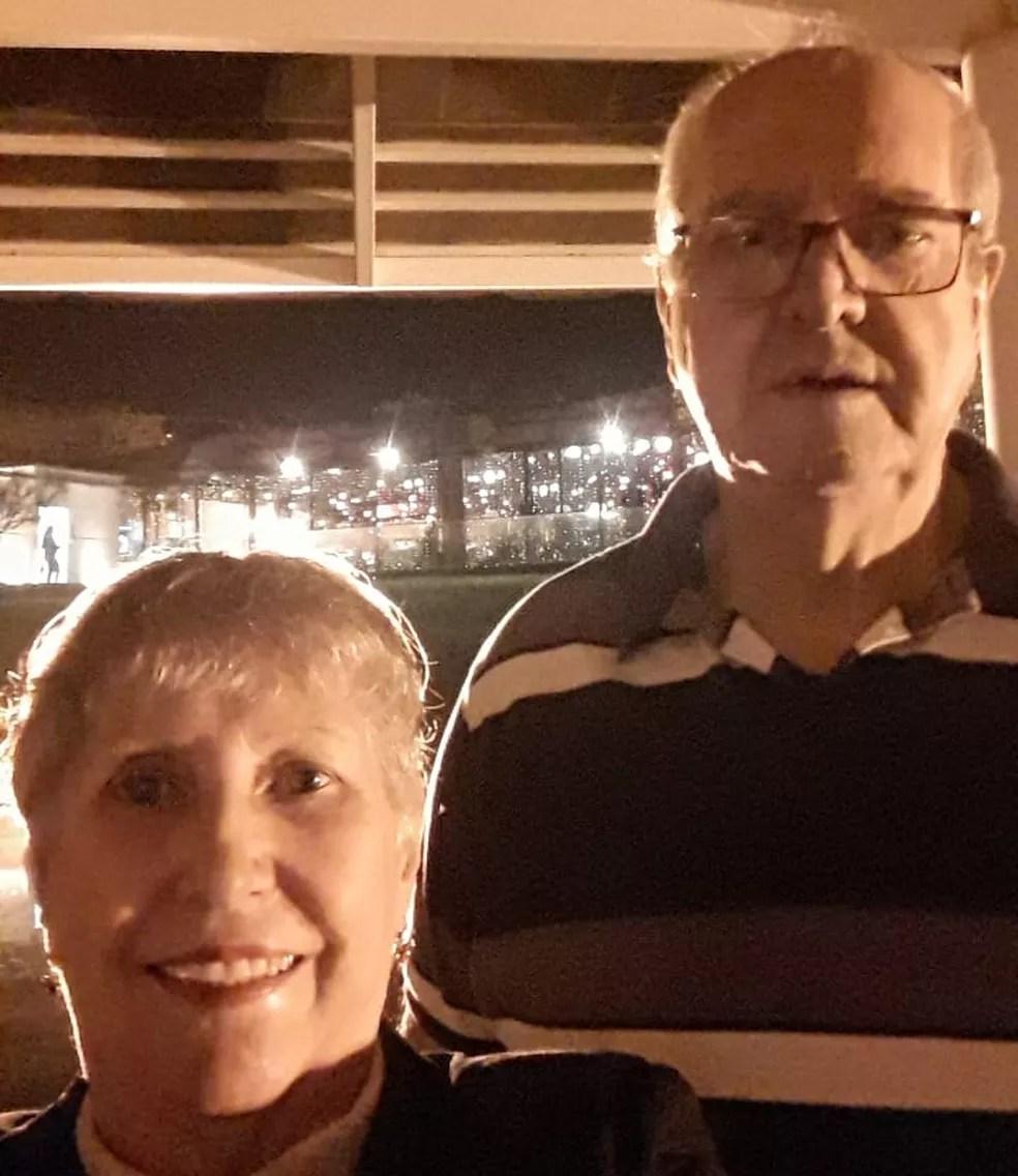 Izildinha e Francisco moram em Salto e estão juntos há 44 anos — Foto: Francisco Carlos Garrido Lopes/Arquivo pessoal