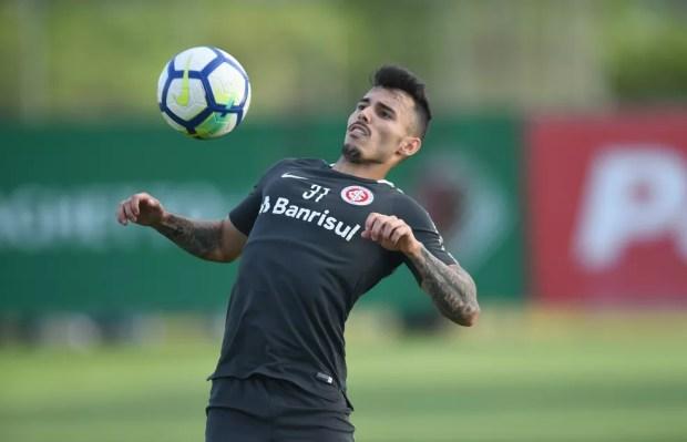 Zeca deve voltar ao time titular do Inter após mais de 40 dias — Foto: Ricardo Duarte / Inter, DVG