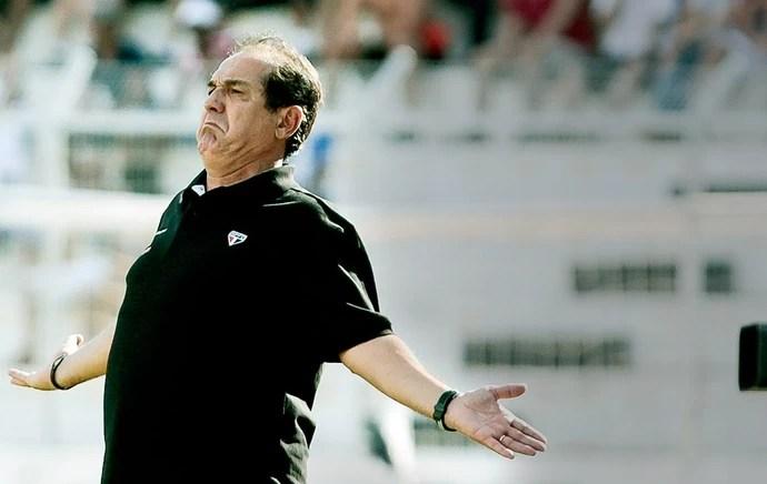 Muricy Ramalho jogo São Paulo (Foto: Miguel Schincariol / Agência Estado)