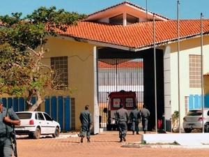 Penitenciária Estadual de Alcaçuz (Foto: Ricardo Araújo/G1)