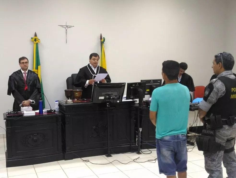Pelos os dois crimes, homem foi condenado a quase 60 anos de prisão (Foto: Divulgação/TJ-AC)