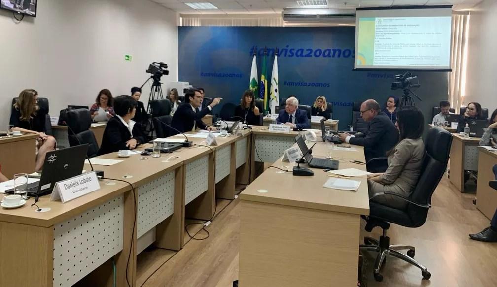 Diretoria Colegiada da Anvisa avaliou em 11 de junho propostas de consulta pública para aprovação do plantio de maconha no Brasil — Foto: Rafaella Vianna/TV Globo