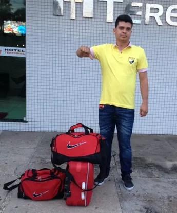 Wemerson Carvalho, técnico (Foto: Arquivo Pessoal)