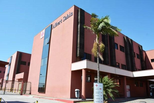 Hospital Albert Sabin em Atibaia (Foto: Divulgação)