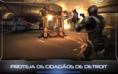 Novo filme de RoboCop já conta com jogo gratuito, baixe agora (Foto: Divulgação )
