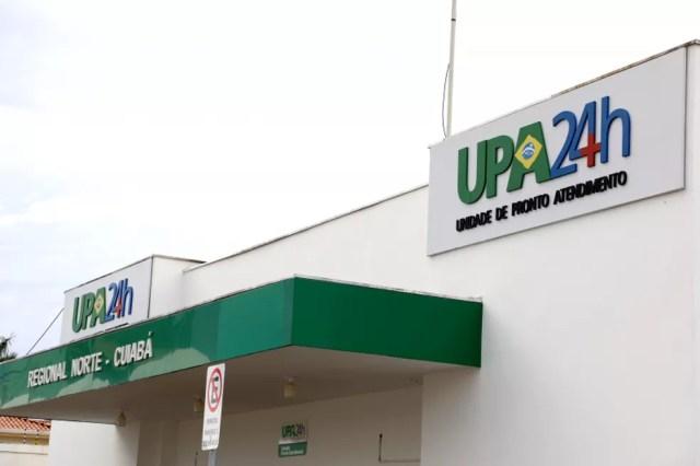 Atendimento é suspenso na UPA Morada do Ouro, em Cuiabá — Foto: Assessoria