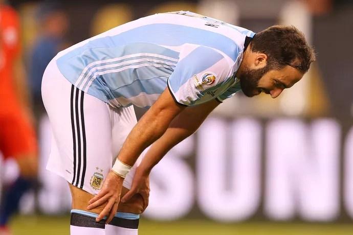 Higuaín Argentina Chile Copa América (Foto: Getty Images)