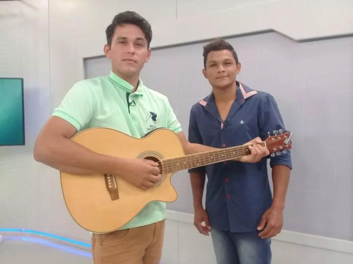 Adriano e Cristian  — Foto: Ricardo Freitas / G1