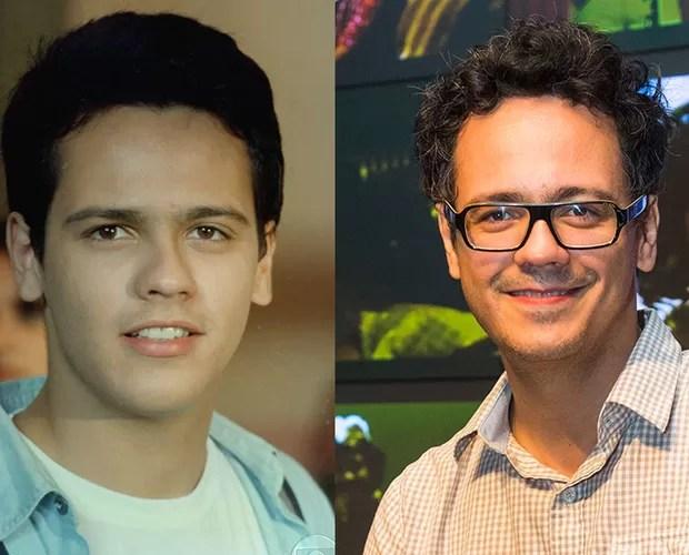 Danton Mello também fez em história na primeira temporada de Malhação como o universitário Héricles (Foto: CEDOC/Divulgação/TV Globo)
