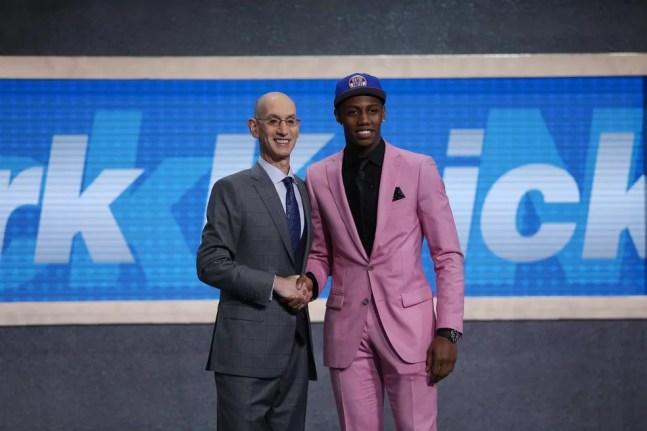 RJ Barrett foi draftado pelos Knicks em 2019 — Foto: Brad Penner-USA TODAY Sports