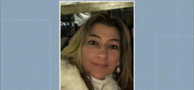 Taciana Ribeiro Coutinho é suspeita de matar o marido, em Sapé, na Paraíba — Foto: TV Cabo Branco/Reprodução