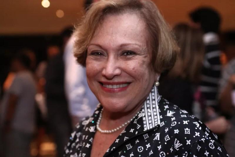 Atriz Nicette Bruno em foto de arquivo de 2010 na reestreia da peça Estranho Casal, no Teatro Renaissance, em São Paulo — Foto: Arquivo variedades/AE