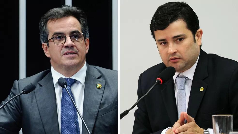 O senador Ciro Nogueira (esq.) e o deputado Eduardo da Fonte — Foto: Moreira Mariz/Agência Senado; Reinaldo Ferrigno/Câmara dos Deputados