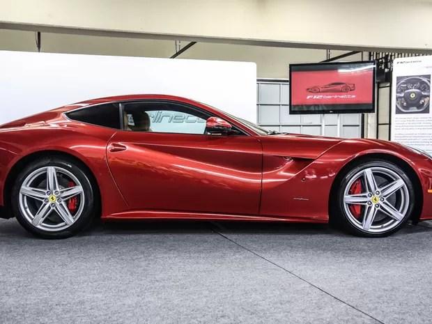 Ferrari F12berlinetta (Foto: Raul Zito/G1)