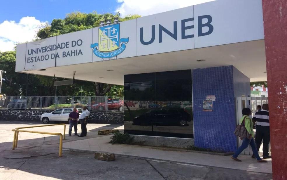Campus da Uneb em Salvador (Foto: Henrique Mendes / G1 Bahia)