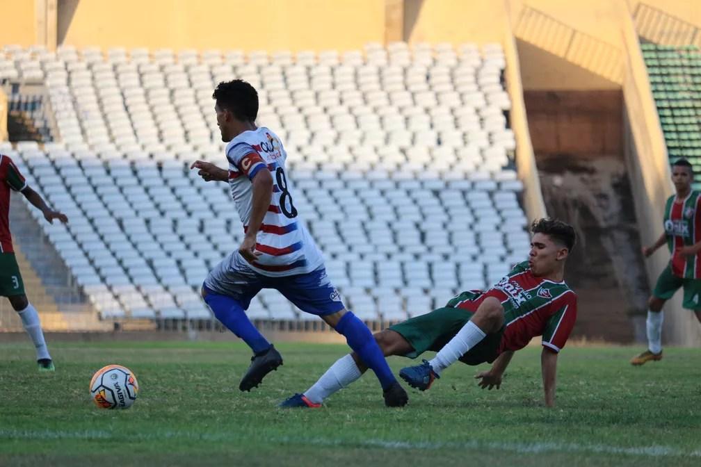 Piauí x Fluminense-PI - Piauiense sub-17 2018 — Foto: Renan Morais