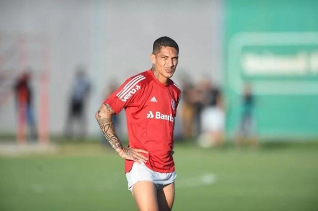 Guerrero, atacante do Inter — Foto: Ricardo Duarte/Divulgação Inter