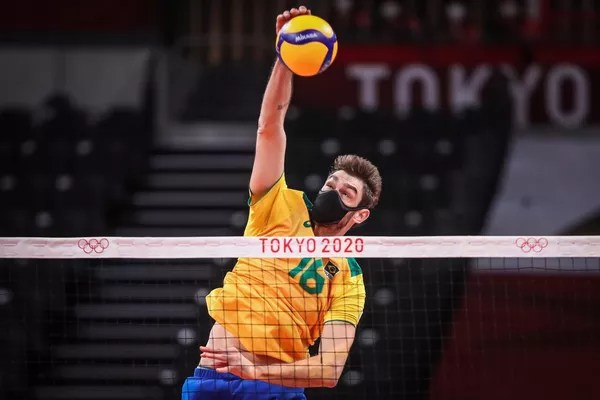 Lucão debuts at the Olympics wearing a mask: 'I don't see any more difficulties' | Rio Grande do Sul | G1