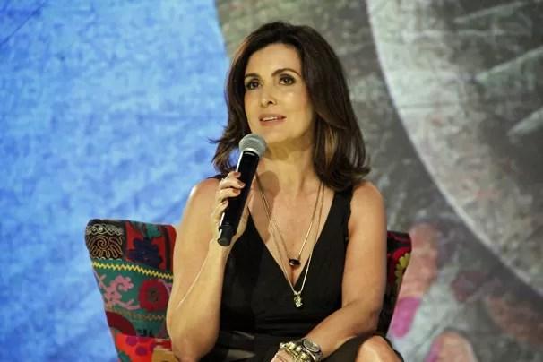 Fátima Bernardes lança no Projac seu novo programa, Encontro com Fátima Bernardes (Foto: Nathalia Fernandes/TV Globo)
