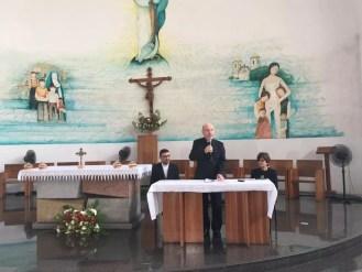 Arcebispo de Salvador e Primaz do Brasil, Dom Murilo Krieger, durante coletiva em Salvador — Foto: Maiana Belo/G1