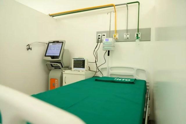 Hospital em Rio Branco foi entregue no dia 15 de junho  — Foto: Pedro Devanir/Asscom-AC