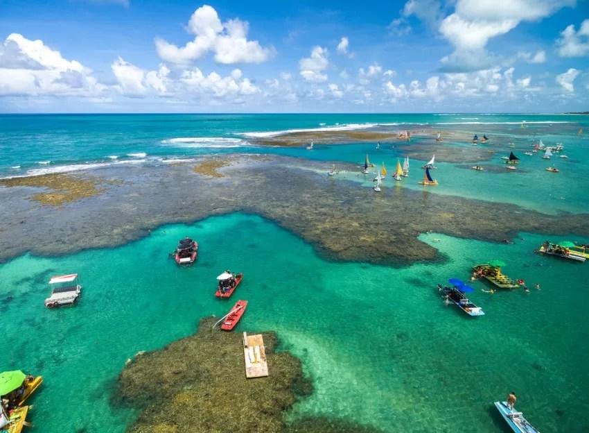 Porto de Galinhas, Pernambuco (Foto: Gustavo Frazao / Shutterstock)