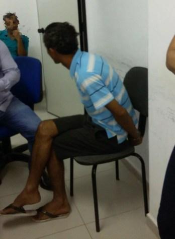 Pator é preso suspeito de abusar de meninos em Petrolina (Foto: Aracelly Romão/ TV Grande Rio )