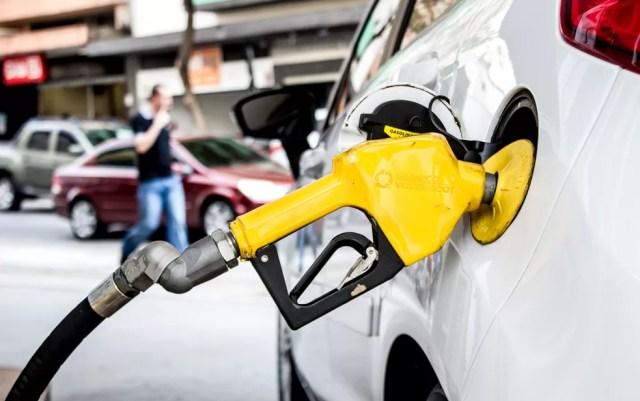 Combustíveis puxam alta da inflação em outubro — Foto: Adriana Toffetti/A7 Press/Estadão Conteúdo