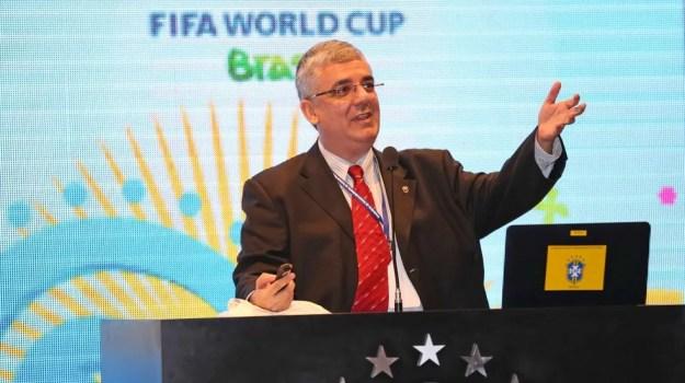 Romeu Castro fala sobre situação do Sport — Foto: Rafael Ribeiro / CBF