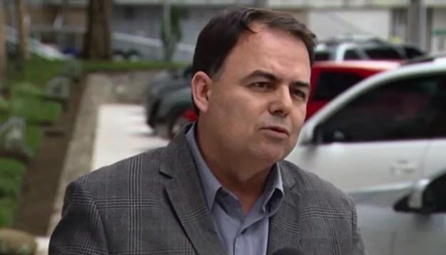 O ex-diretor-geral do Departamento de Estradas de Rodagem no Paraná (DER-PR) Nelson Leal Junior foi preso no dia 22 de fevereiro. (Foto: Reprodução/ RPC Curitiba)