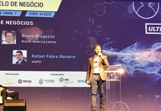 Erik Trench Alcantara Santo, gerente de desenvolvimento empresarial da Ultragaz. (Foto: Época NEGÓCIOS)