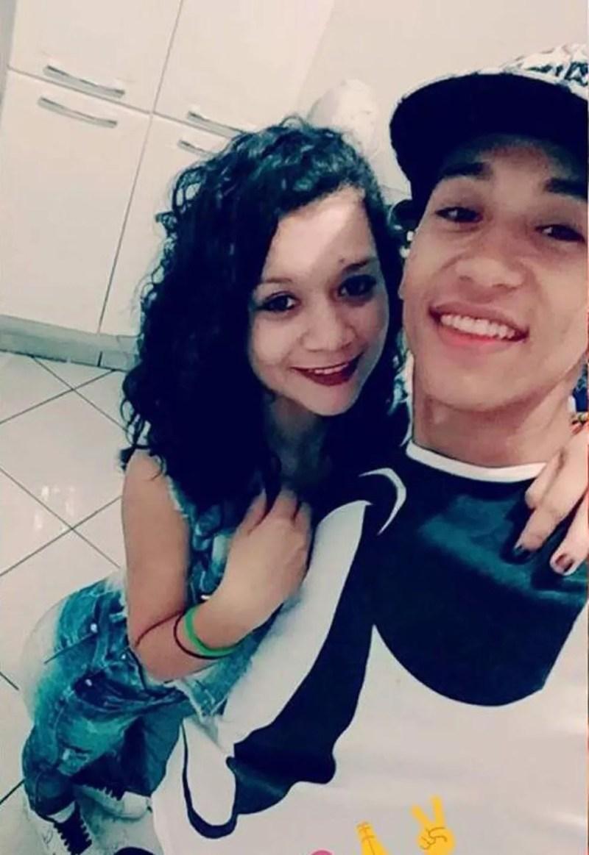 Jovem usa fio de celular e coleira de cachorro para matar namorada adolescente, em Sidrolândia (MS). — Foto: Facebook/Reprodução
