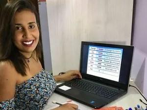 Tairine conta que um novo mundo se abriu após iniciar as aulas de inglês (Foto: Arquivo Pessoal)
